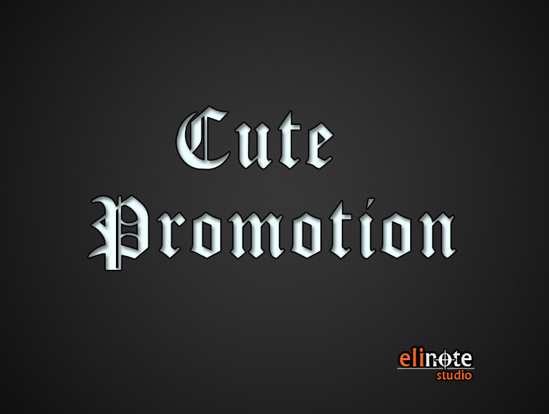 Cute Promotion