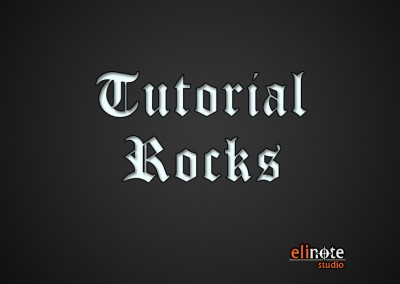 Tutorial Rocks