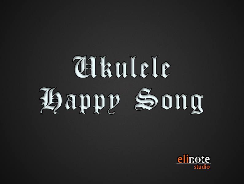 Ukulele Happy Song